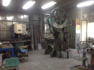 アベ製作所の工場風景です